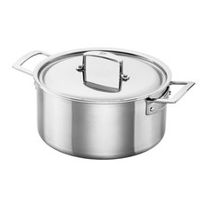 ZWILLING Aurora 5-Ply Stainless Steel 5.5-Qt. Dutch Oven