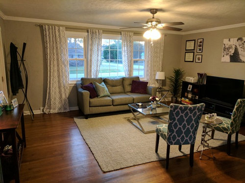 Front Door Opens Directly Into Living Room Layout