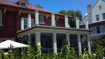 Hawthorne - flat roof patio