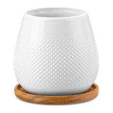 - Rosenthal - Studio Cha Medium Teacup & Saucer Set - Tea Cups