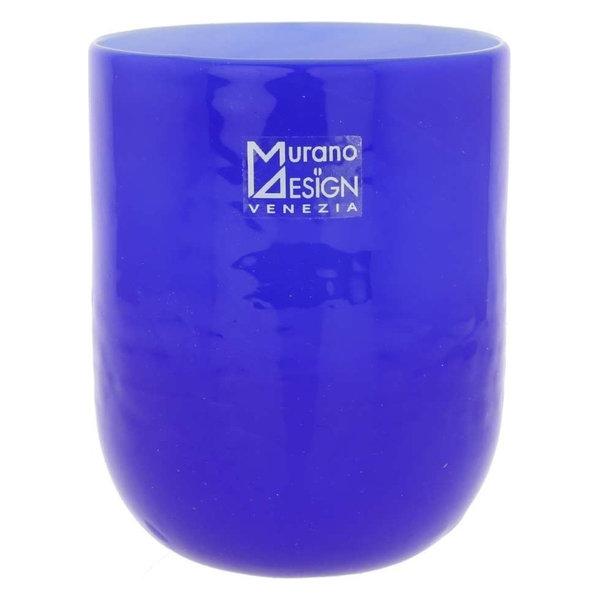 Murano Glass Luminoso Tumbler, Blue