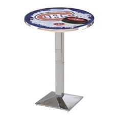 Montreal Canadiens Pub Table 28-inchx36-inch by Holland Bar Stool Company