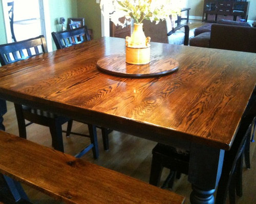 Square Farmhouse Dining Tables   James+James Furniture