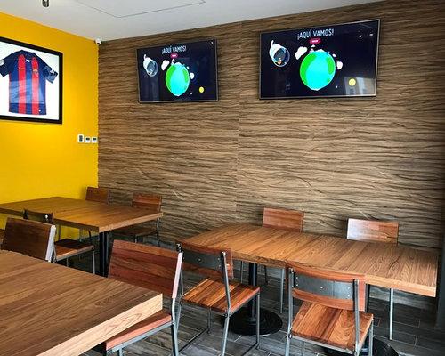 Sports Bar Cancún - Decoración de paredes