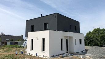 Rénovation Façade construction neuve