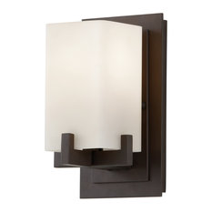 Feiss 1-Light Vanity Fixture, Oil Rubbed Bronze