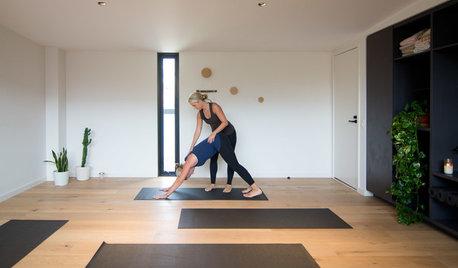 Creatives at Home: Lucinda McKimm in Her Yoga Studio
