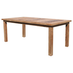 Transitional Dining Tables by Chic Teak