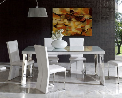 white contemporary dining room sets. Contemporary in Wood and Glass Top Leather Kitchen Dinette Sets  Dining Tables Elite with Chairs Italian Design