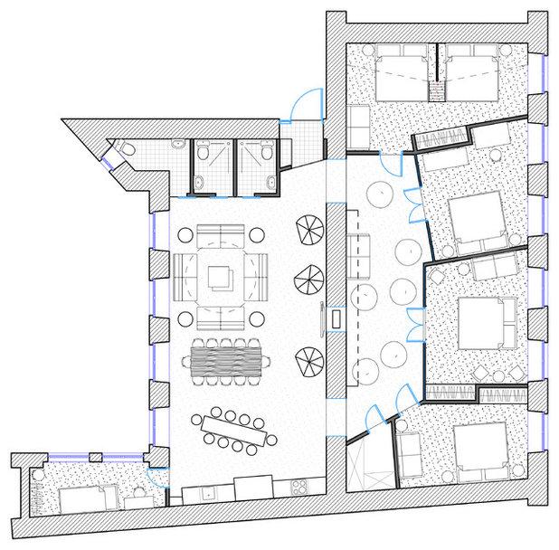 Лофт Внутренний план by Totaste.studio | Виктор Штефан