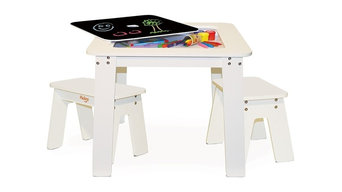 P'kolino Chalk Table and Benches