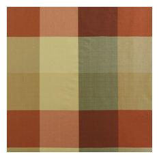 "Manor Faux Silk Plaid Fabric Sample, 4""x4"""