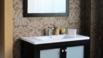 Brezza Modern Bathroom Vanity