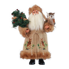 "15"" Night Watchman Santa"