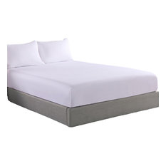 Lotus Home Cotton Fitted Bed Protector Set, Full, 3-Piece