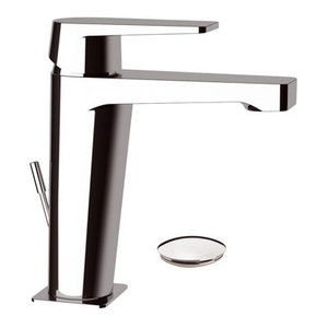 Dream Chrome Plated Bathroom Sink Mixer Tap, Waste Plug Included, 17.40cm