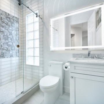 Transitional Guest Bathroom in Naples, FL