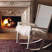 Cornelia Rocking Lounge Armchair by Cattelan Italia - $845.00