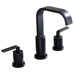 Transitional Bathroom Sink Faucets by Luxier