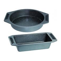 Non-Stick Baking Pans, 2-Piece Set