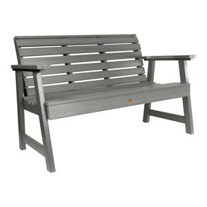 Weatherly Garden Bench, Coastal Teak, 5'