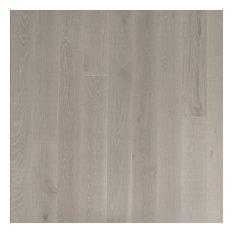 French Oak Prefinished Engineered Wood Floor, Grey Meadow, Sample