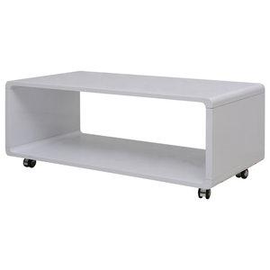 VidaXL Coffee Table, White