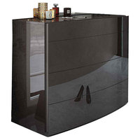 ESF Barcelona Small Dresser 120, Dark Brown