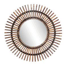 BASSETT MIRROR CO. - Bassett Mirror Co M2752EC Chapman Tall ChestTaipan Collection - Wall Mirrors