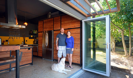 Houzz TV: A Couple's Garage Becomes Their Chic New Home