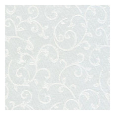 "Lenox Opal Innocence 90"" Round Tablecloth, White"