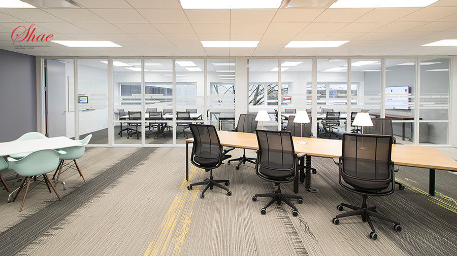 Open Office Space with Private Conference Room