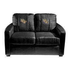 Central Florida Knights Collegiate Silver Love Seat With UCF Logo