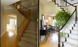 Robeson Design Stairwell Storage Ideas