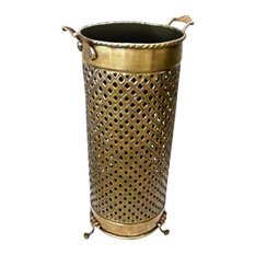 Umbrella Stand Solid Brass Openwork