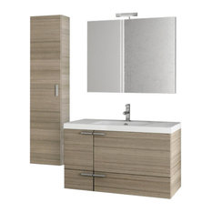 "39"" Larch Canapa Bathroom Vanity Set"