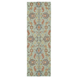American Traditional Hall & Stair Runners by Kaleen Rugs