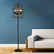 Filament Tall Floor Lamp - The White Teak Company
