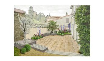 Jardin I&L - terrasse à redynamiser