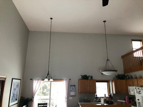 New Lighting Fixtures High Ceilings