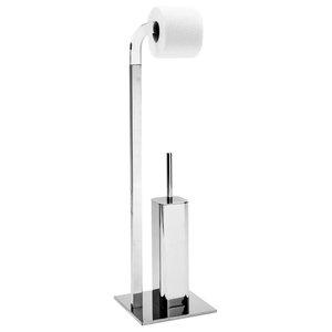 Pertica Toilet Butler, Light Chrome