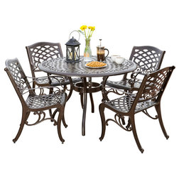 Traditional Outdoor Dining Sets by GDFStudio