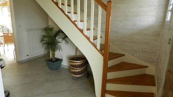 Peinture d'escalier