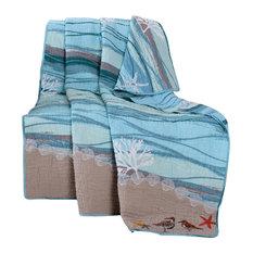 "Greenland Maui Throw Blanket, Multi, 50""x60"""