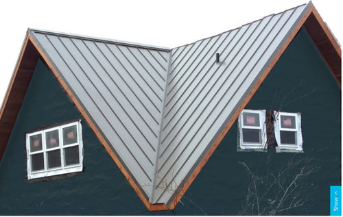 What Color Gutter For Wood Fascia Metal Roof