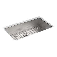 "Kohler Vault 33"" X 22"" X 9-5/16"" Top-/Under-Mount Large Kitchen Sink"