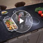 "Monogram 36"" induction cooktop"