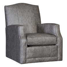 Garland Swivel Glider Chair, Omaha Gray