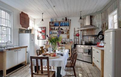 Consigue un toque rústico en tu cocina urbana