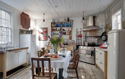 12 Shabby Chic-style Kitchens on Houzz